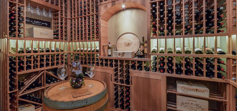 wijnkelder bouwen